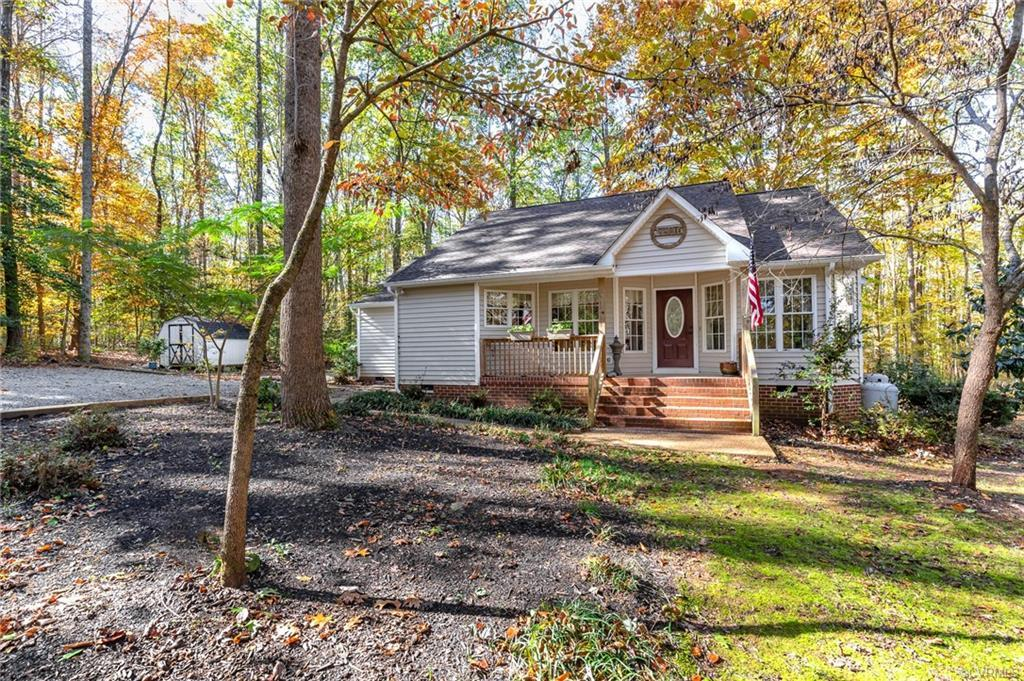 Looking for that quite privacy on 10 acres within 10 minutes of Rt. 288? This home has it all...wond