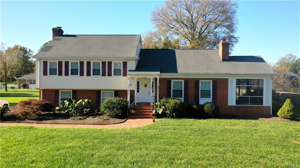 The lovely curb appeal, fully fenced backyard, and long paved driveway that surround this Beautiful