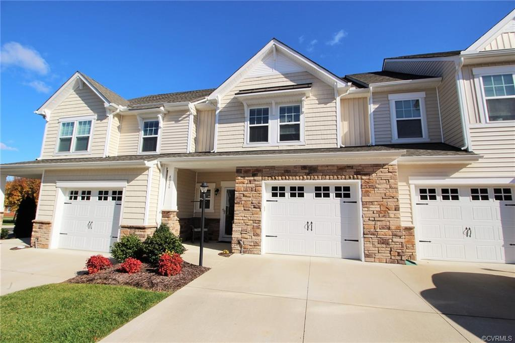 Maintenance Free equals Care Free in this Popular Townhome Community in this convenient Hanover Comm