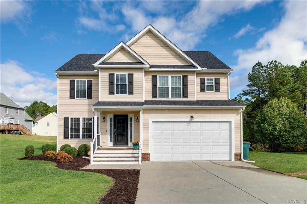 Welcome HOME! This bright & airy two story home in Henrico County backs to the Virginia Capital Trai