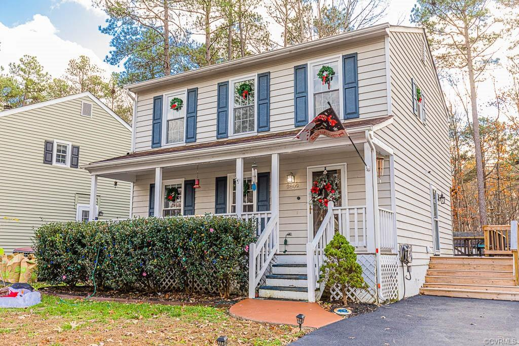 Welcome home to 2809 Ashley Glen Drive! This adorable home is nestled in a quiet neighborhood in Ric