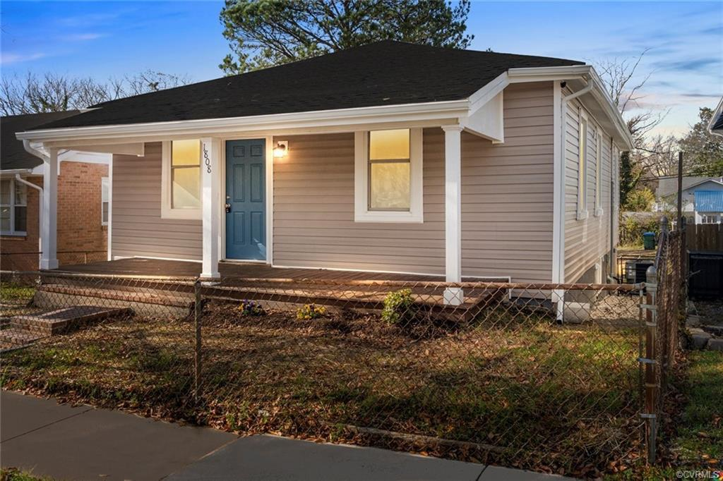Welcome home to this cute bungalow home nestled in the up-and-coming Church Hill neighborhood. Defin