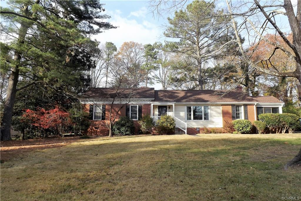 Brick Rancher in sought after Stratford Hills. Beautifully refinished oak floors are throughout the
