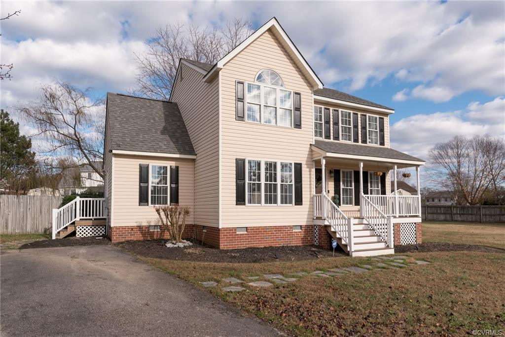 All you have to do is move in!! Welcome Home to 3000 Warfield Estates Terrace, conveniently located