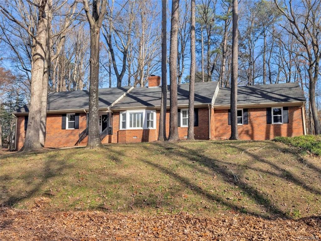Remodeled ALL Brick Ranch with 2 Car Garage on wooded .57 Acre Lot in Pinedale Farms! Completely Ren