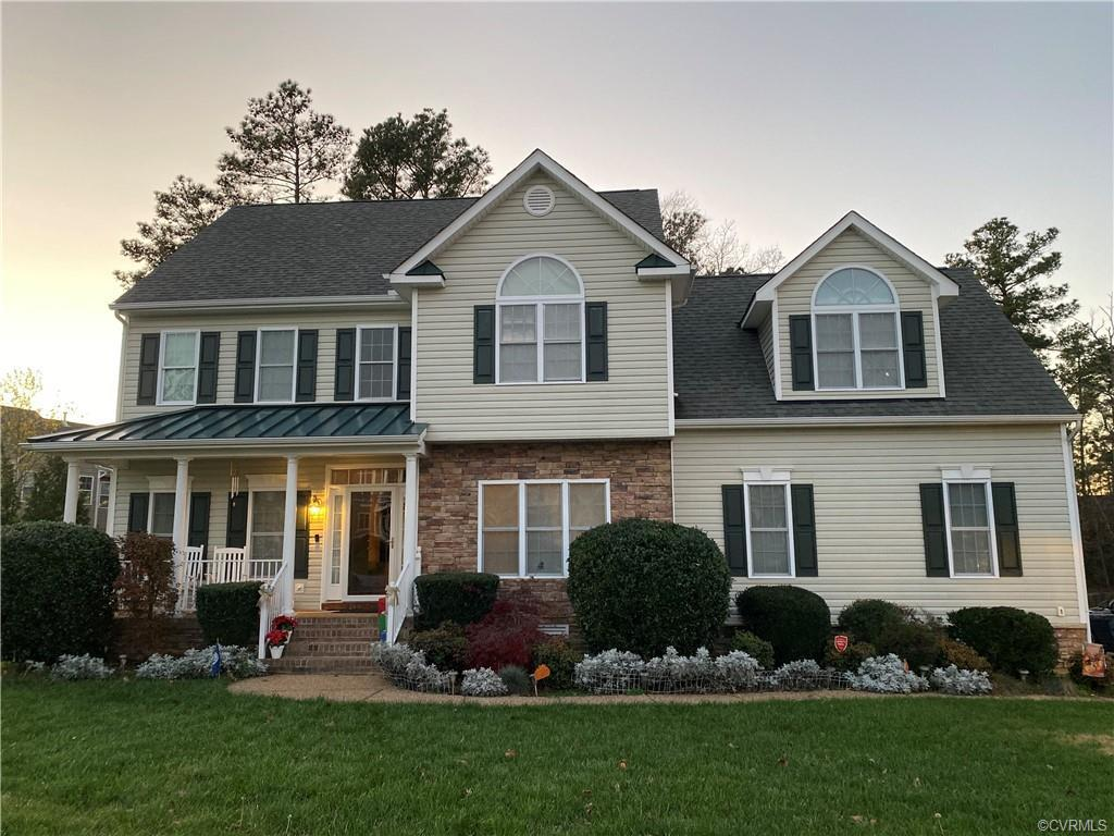 Welcome home to this gorgeous 4 bedroom 2.5 Bath home located in the sought after Collington subdivi