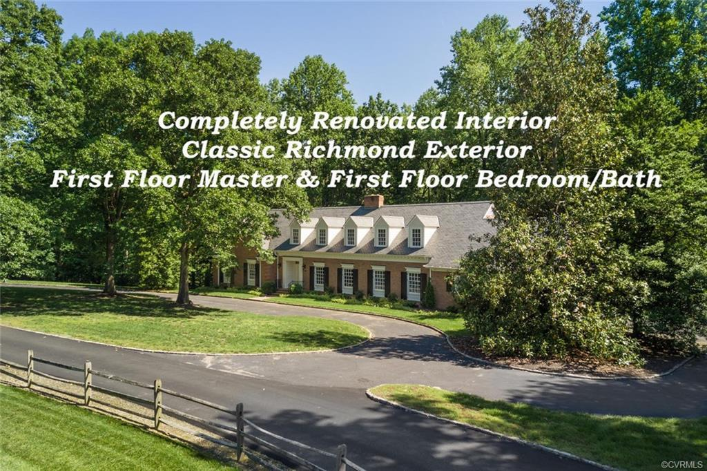 IMPRESSIVE PRICE REDUCTION JUST IN TIME FOR the holidays! Tucked away on a private drive off one of