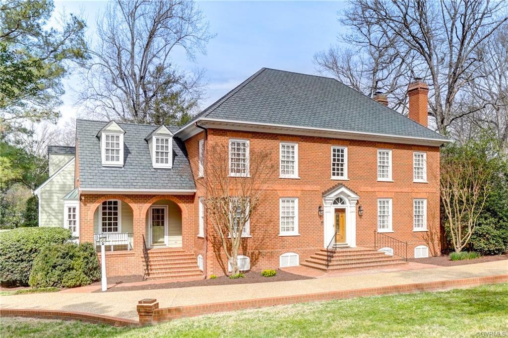 Quality craftsmanship & meticulous maintenance are yours in this stately brick Colonial. Fantastic l