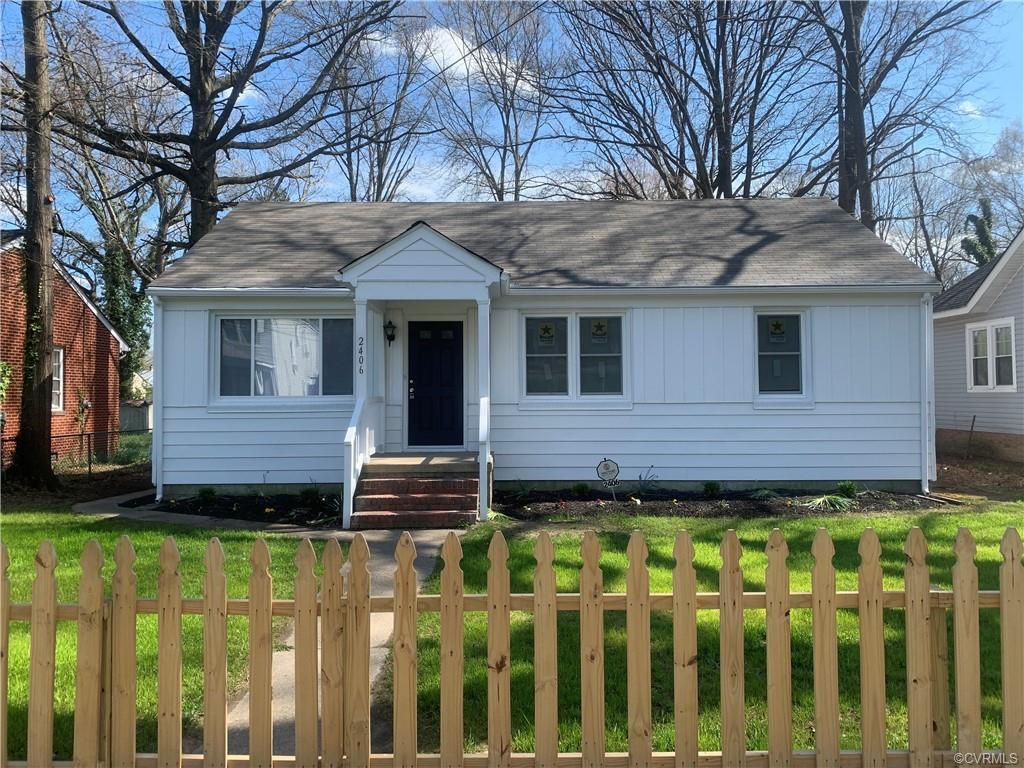 Renovated rancher in the Richmond south side. Just minutes away from Manchester and the James river.