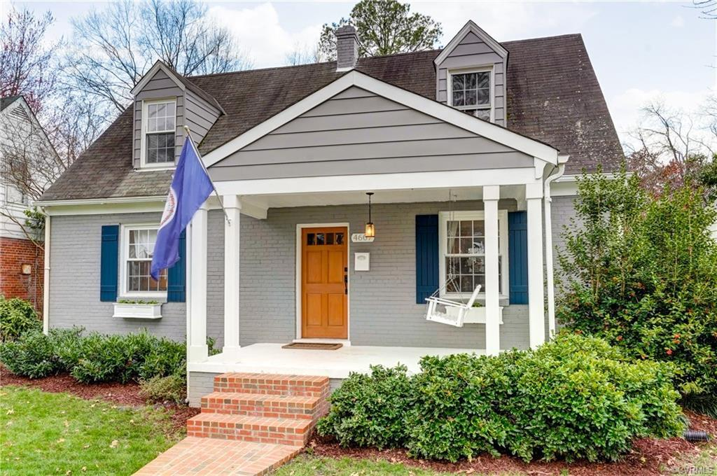 Absolutely charming brick Cape! The large and inviting covered front porch, welcomes you right as yo