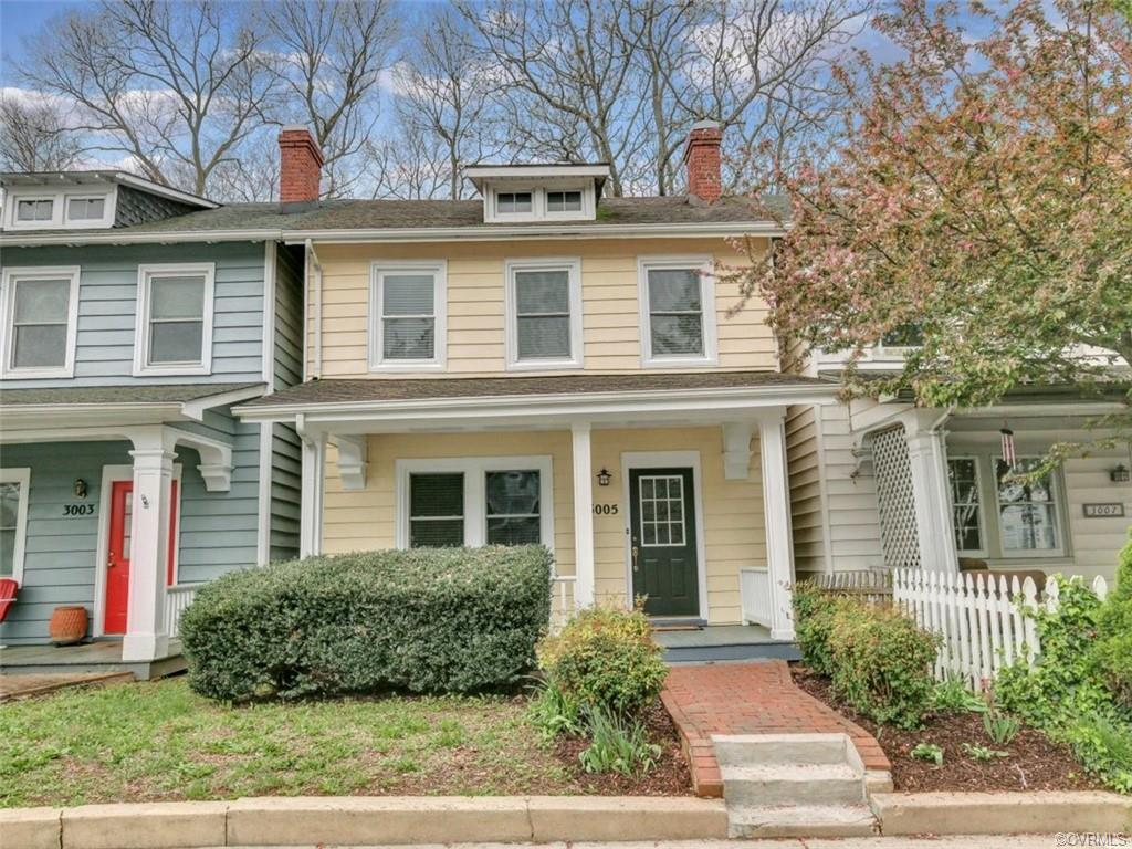 Wow!!  Walk to Carytown and the Byrd Theater from your beautiful 2-story home that is within 2 block