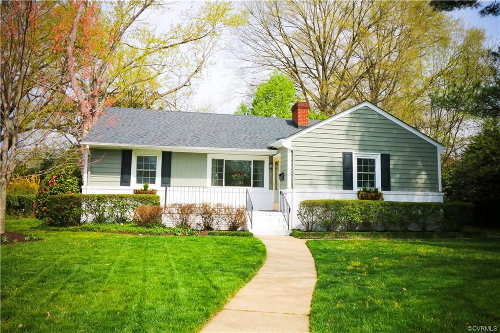 Welcome to 4610 Grove Avenue. Fall in love with this charming brick/wood single-level home, located