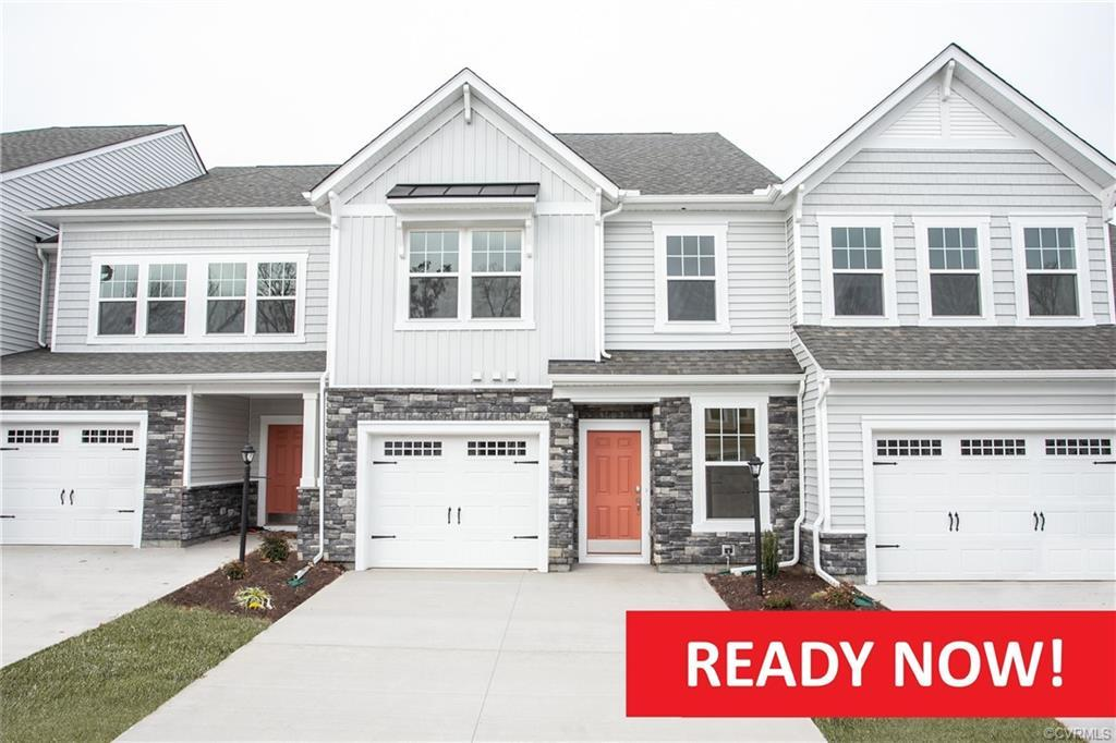HOME IS READY NOW! FIRST FLOOR OWNER'S SUITE! This designer home boasts an open concept floorplan wi