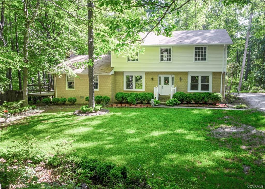 This is an opportunity you won't want to miss out on, a 2-story colonial style home on 5.18 acres in