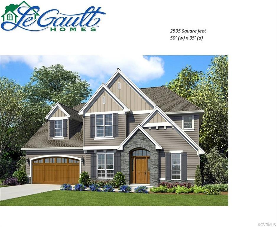"""Welcome to 709 Foundry Park Cr. LeGault Homes Custom Built.  Many included features: 42"""" kitchen cab"""