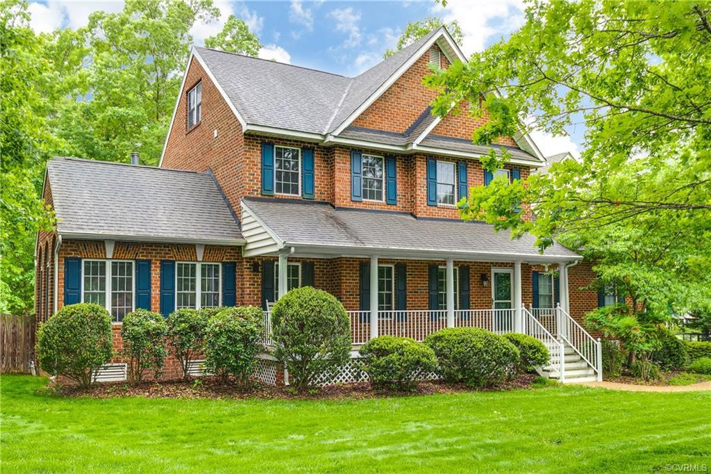 Welcome to this immaculateall brick home, front porch perfect for morning coffee or watching f