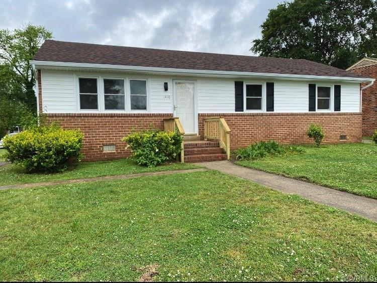 Conveniently located near highways and shopping centers, this beautifully renovated brick rancher ha