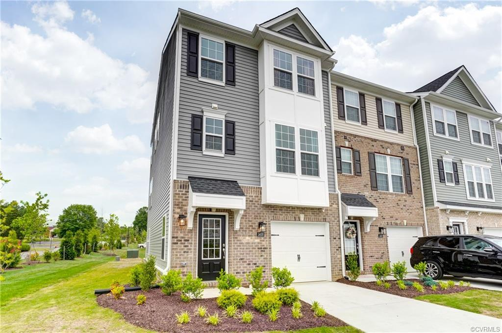 Be the very first to see this better than new 3-level Townhome in the Lakeside Landing Community. Sa