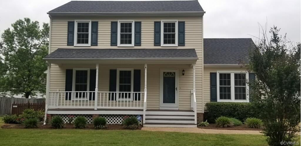 This two story maintence free vinyl sided home has lots to offer. The seller has been constantly mak