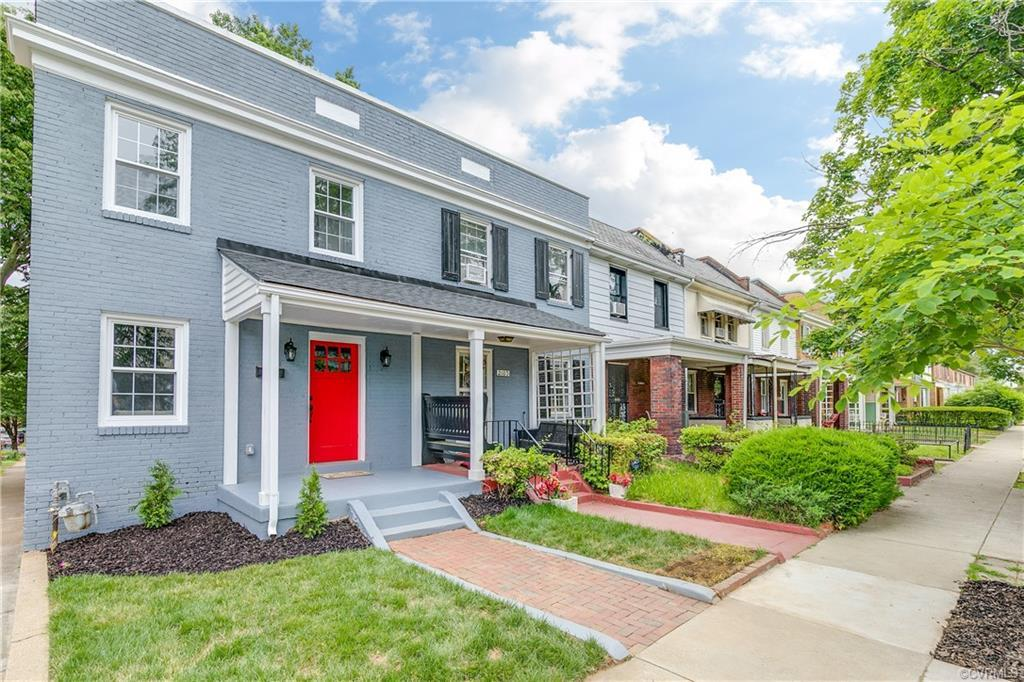 Byrd Park's newest fantastic fully renovated home awaits you! A custom brick colonial on a corner lo