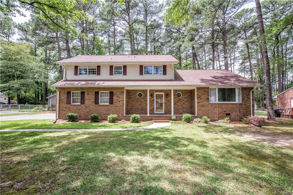 Move In Ready 2 Story Brick Home! This Home features an Updated Kitchen to include Granite Counter T