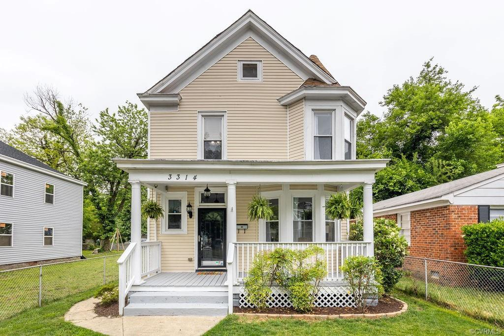 Nestled away on a quiet block in RVA's Northside, this renovated Victorian boasts 3 large bed