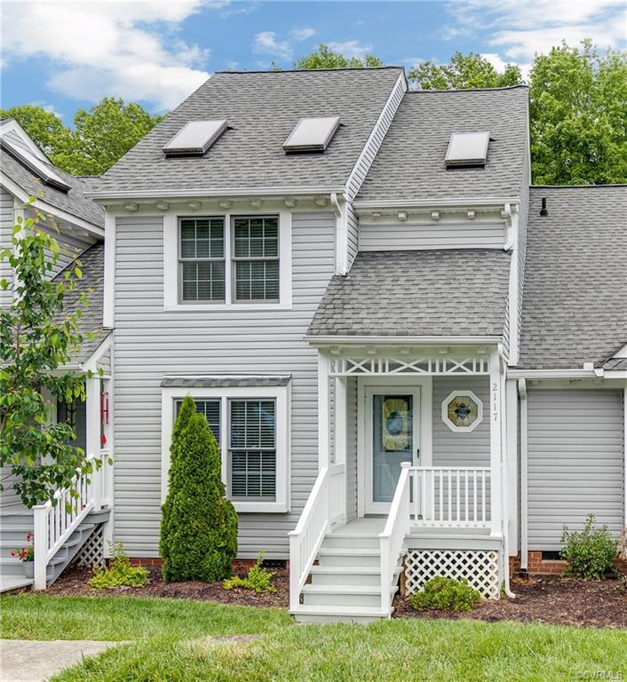 Rare opportunity to own a 3 bedroom town home in Rolling Hill at Bon Air! This home is well maintain