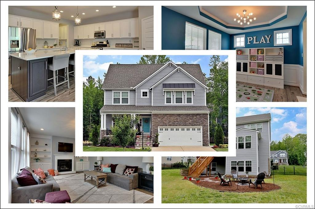 Better than new home awaits its new owners! Curb appeal & notable craftsman charm, inside & out! Who