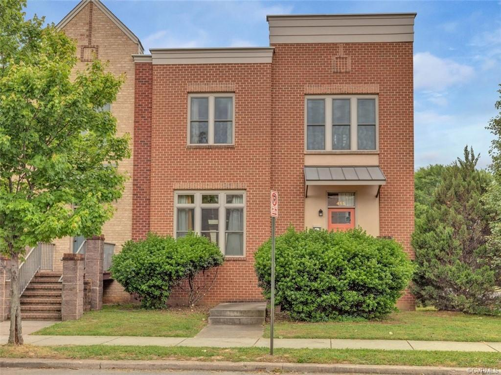 Welcome to 415 South Harrison Street, a fabulous end unit townhouse just a few short blocks from the