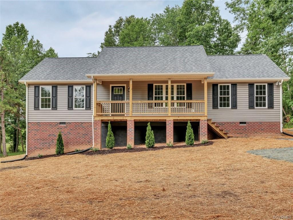 NEW! This home is completed and ready to move in!  Own a NEW home on one level in desirable Powhatan