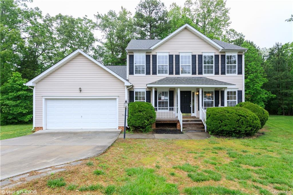 Nice two story in the Watermill subdivision. This is 2196 square feet with four bedrooms and two and