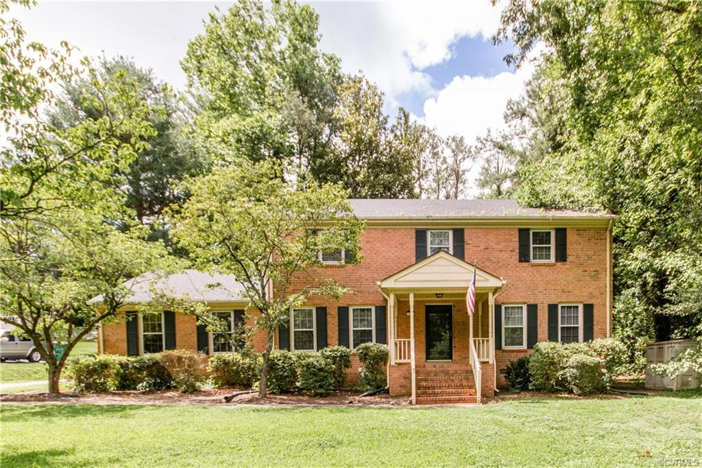 This stately brick home in CHESTER has so much to offer.   It has over 2,700 sq ft featuring 4 bedro