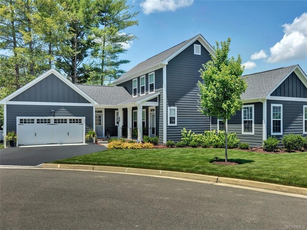 Spectacular low maintenance living in the Church Road Glen neighborhood. This almost new(but much be