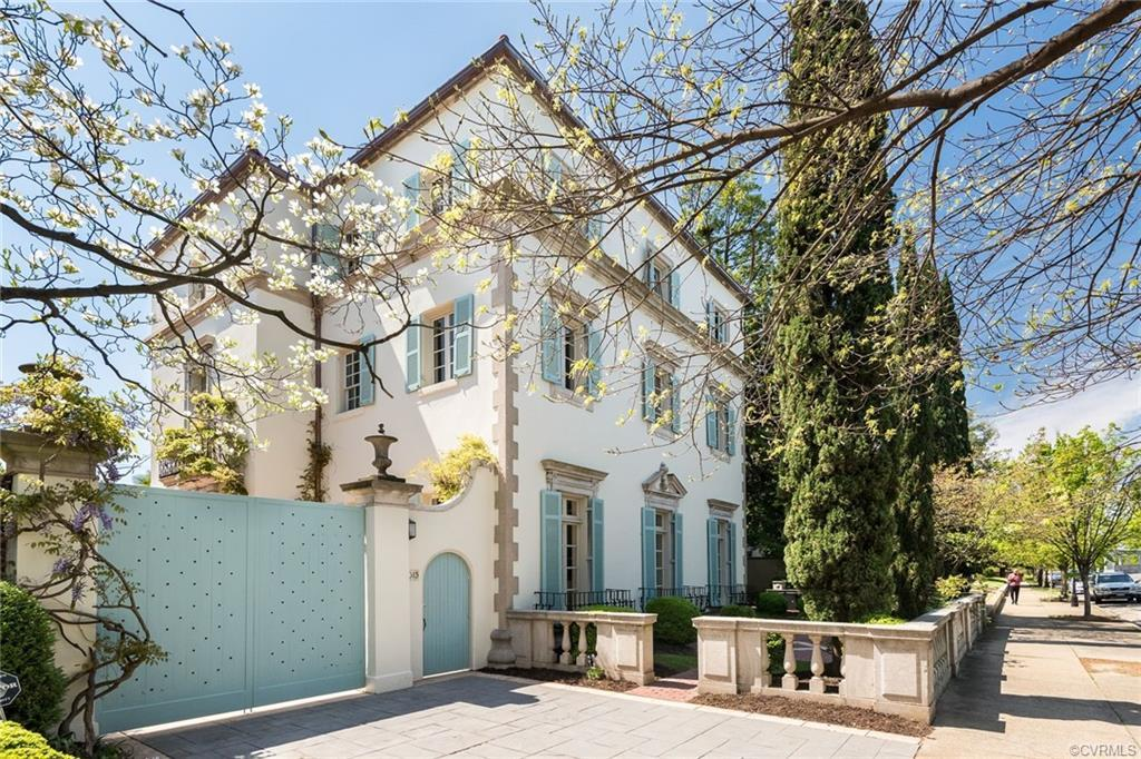 Rare offering of this 7 bedroom Mediterranean style one of a kind mansion designed by noted architec