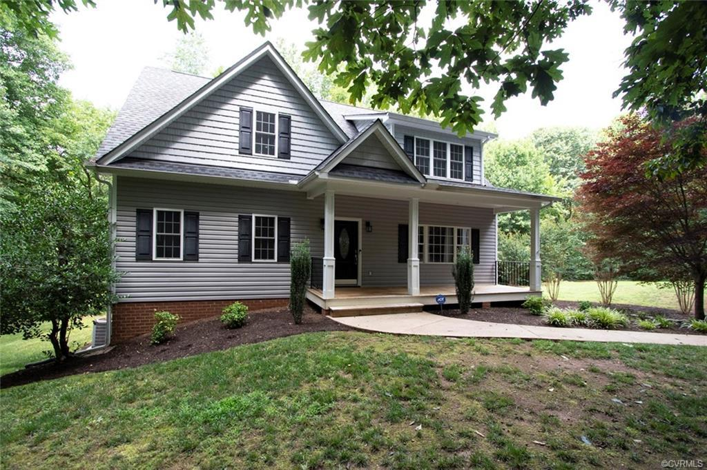 Charming Cape located in Lake Randolph Estates in Powhatan, VA  23139.  First offering!  This 4 bedr