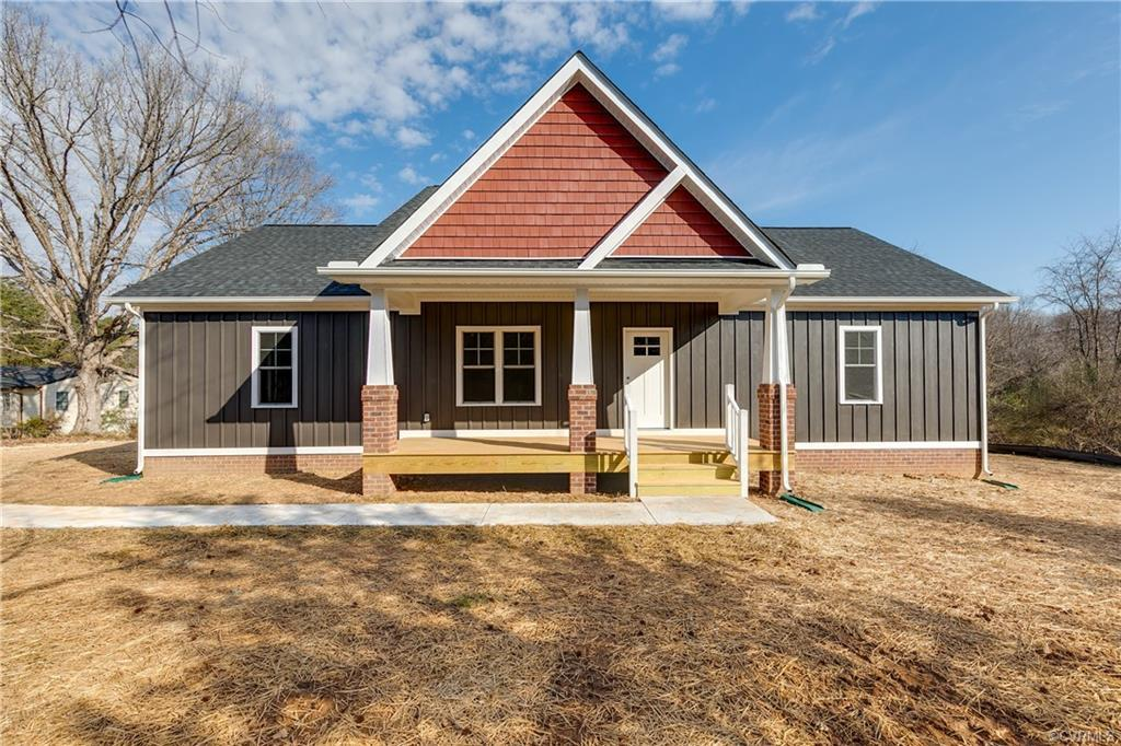 Welcome to 1577 Rock Castle Rd! This new home is situated on a 4.09 acre lot and features 1,818 SF,