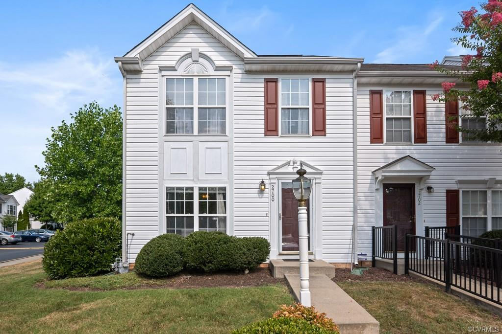 Back on the market no fault of the seller!! Meticulously maintained, move in ready end unit located