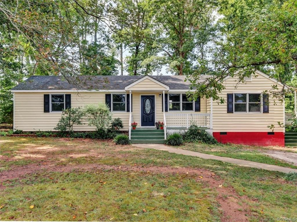 This ONE-LEVEL LIVING, 3 bedroom, 2 bath home (1,263 sq. ft.) located on 2.17 acres has special attr
