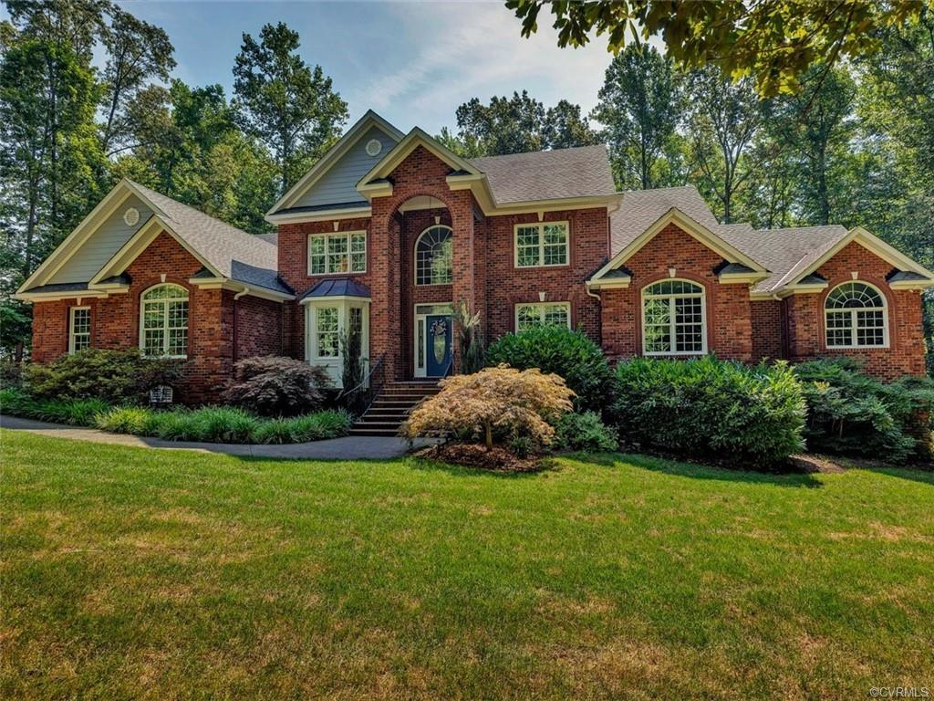 Welcome to LAKERONT living! Fabulous home on 50+ acre lake with exceptional views and spectacular ou