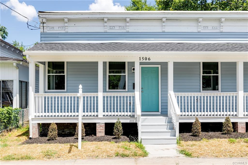 Welcome to 1506 N 35th St a gorgeous, renovated 2 bed 1 bath home in Church Hill! Boasting all new m