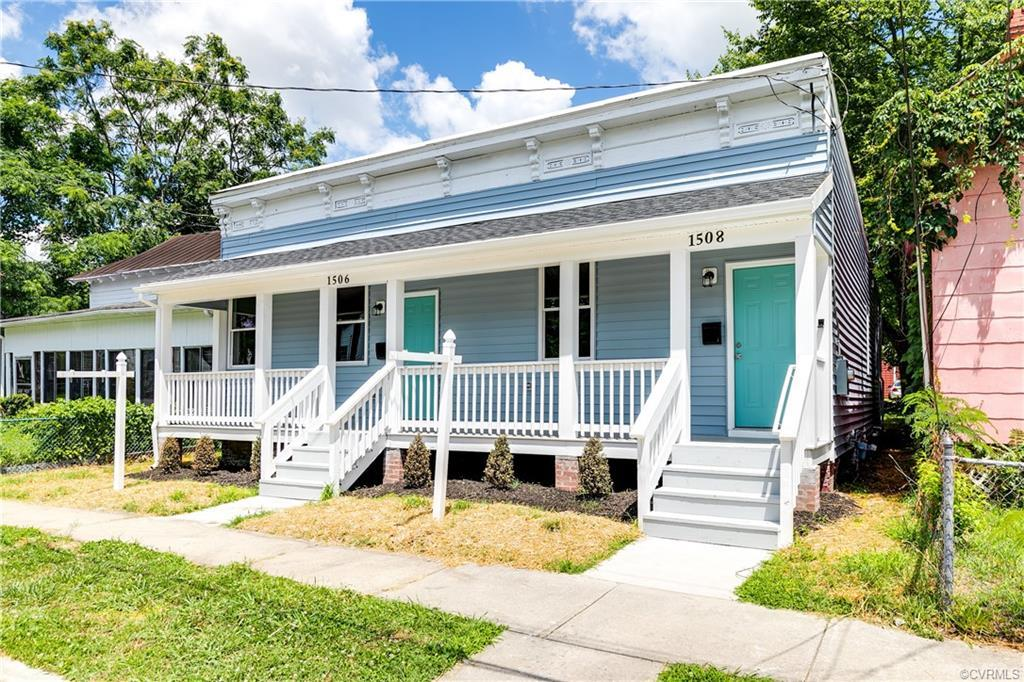 Welcome to 1508 N 35th St a gorgeous, renovated 2 bed 1 bath home in Church Hill! Boasting all new m