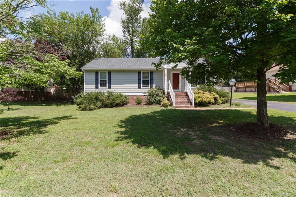 Adorable 3 bedroom 2 bath home in Foxlair.  The living room has a wood-burning fireplace. Enjoy the