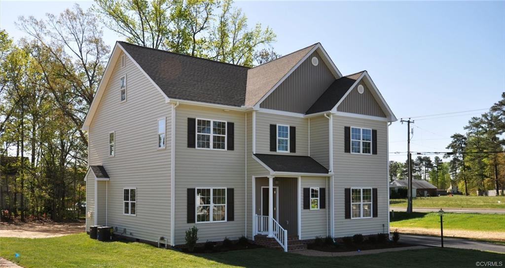 The Rappahannock 2 plan by the Kittrell Company. Featuring 6 Bedrooms, 4.5 baths. This home has bric