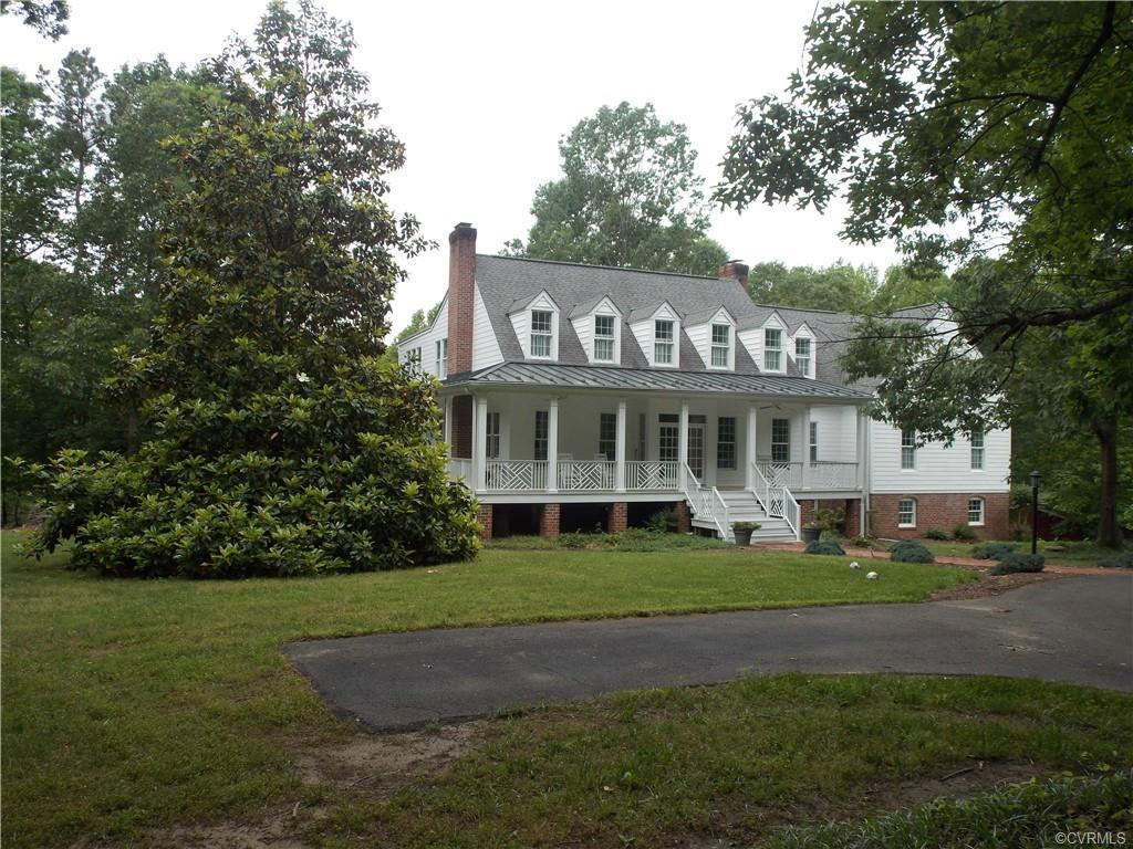 MODERN FARMHOUSE! 15 minutes to Wegmans, 2 miles to Rt 64 Goochland/Oilville Exit. Major addition and renovation in 2008..  HORSES Welcome! Features: 10 Park Like Acres, 2 Paddocks, 24x36' Run-In Shed - Easy conversion to a 4 Stall Barn / Sports Court (50'x30')/Paved Circular Driveway/Wrap Full Porch w/Standing Seam Metal Roof/ Finished English Basement with access to 48x24'' Covered Patio-perfect play area for those hot or rainy days/2 Car Garage Attached/Bridle Path Easement throughout the development!  Int. Features: Along with the 10' Ceilings, Spacious Guest Bath,check out the fab Sun Room ( sg ft not included in total), The Open Floor Plan and natural light, and country views with the sun sets.  Former Guest Suite on the 1st Floor, makes possible for an Easy Master Suite Conversion, massive storage and closets, Chef's Kitchen offers an Island with Heart Pine Counter/White Cabinets with Granite/Wolf 6 Burner&Griddle/Oven /Viking Side by Side Fridge /Bosch DW/Pantry.  2nd Floor offers Master Suite W/Sitting Room/ Large Bath.  3 other BRs, plus 2 Full Baths and Enter Room! View the Dollhouse Tour by clicking the movie reel icon under the photo.