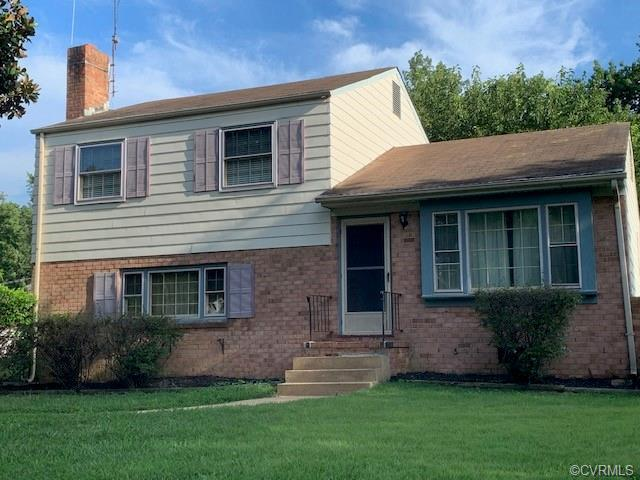 Tri-level in a great location being sold As Is. There is a lot of sweat equity in this property; nee