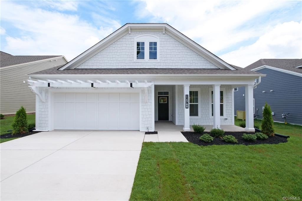 UPDATED PICTURES! MOVE-IN READY NOW! LIVE UP IN THIS 55+, AMENITIY-FILLED GOOCHLAND COMMUNITY. Welco