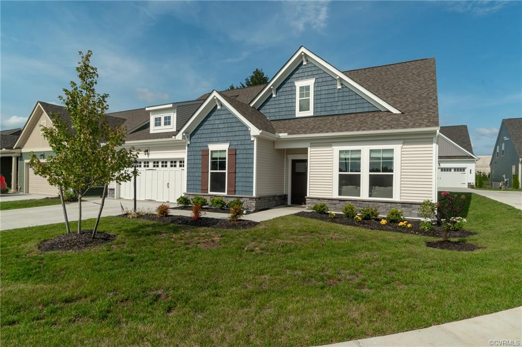 Welcome Home to the Cottages at Chickahominy Falls! Immediate Possession! Check out this KNOX PLAN f