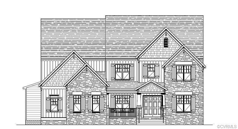 TO-BE-BUILT! This Barclay is a new floor plan with a new double door elevation. It includes a genero