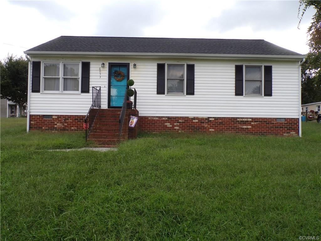 Great! 3 bedroom 2 bath Rancher, large Living room with recess lighting, Dining room, Kitchen has pl