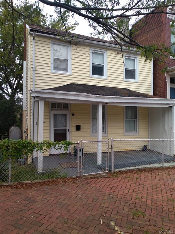OPPORTUNITY IS KNOCKING!  UNBELIEVABLE LOCATION!!!  The Heart of Church Hill!  Home needs full renov